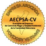 Miembor de la Asociación de Empresas de Control de Plagas y Sanidad Ambiental de la Comunidad Valenciana